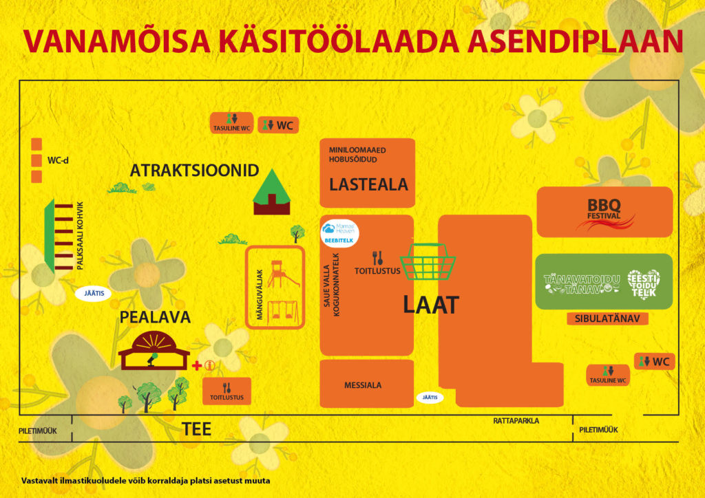 Check out the location plan before coming to the fair, to find everything you want.